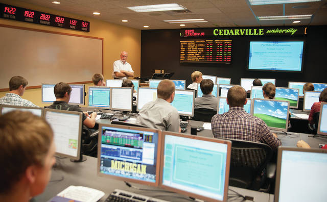 Submitted photo Cedarville's business program among best in Ohio according to a new website.