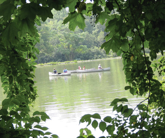 Submitted photo Campers will end the week with a down river canoe float on the Little Miami State and National Scenic River.