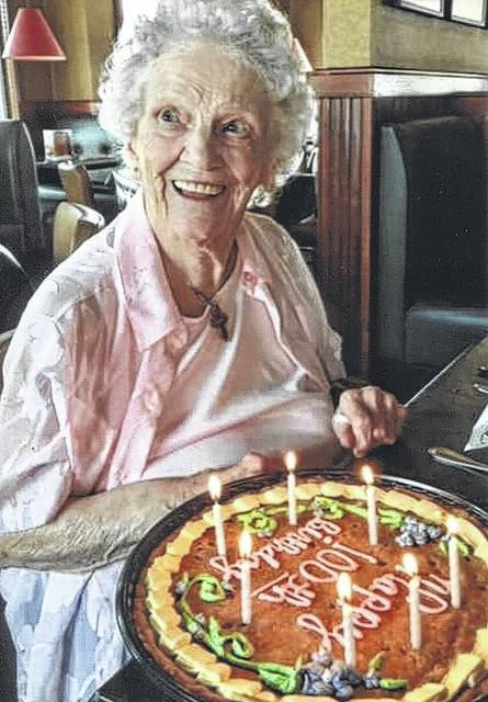 Submitted photo Virginia Siders will celebrate her 100th birthday this weekend.