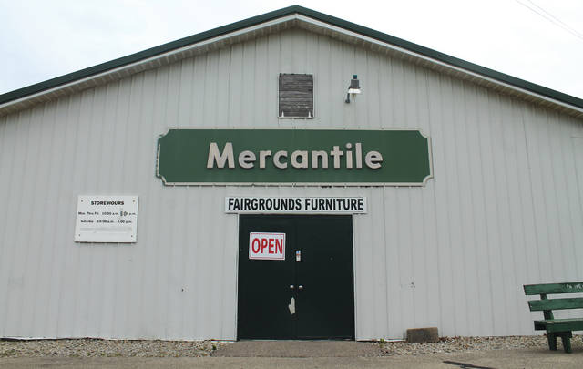 Anna Bolton | Xenia Daily Gazette Fairgrounds Furniture, located on the Greene County Fairgrounds, leases two buildings for its business.