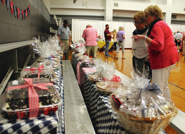Anna Bolton | Xenia Daily Gazette Community members visit the Homemade Treats and Jam Fest Aug. 16 at the Xenia Community Center to participate in games, bid in a live auction, listen to live music and support Greene County Council on Aging.