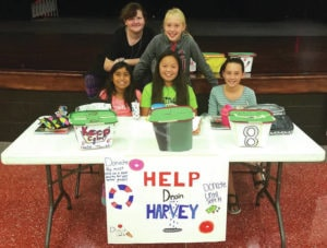 Cedarville sixth graders raise money for Houston