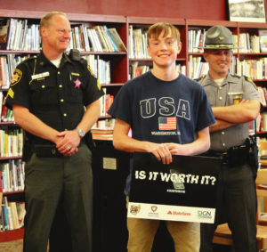 CHS student wins billboard contest