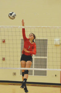 Indians win, LCA falls in volleyball