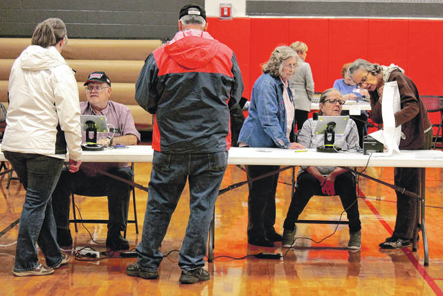 File photo Election precinct officials are needed in Greene County.