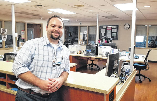 Submitted photo Frank Farkash is serving as the new ICU manager at Greene Memorial Hospital.