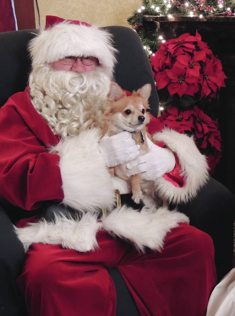 Submitted photos Owners and their dogs can enjoy Canine Christmas 2-4 p.m., Sunday, Dec. 10 at James Ranch Park, Xenia.