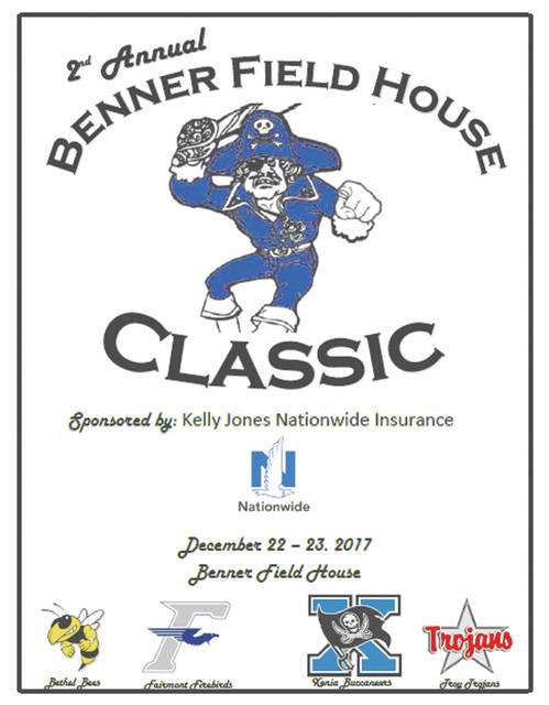 The second Benner Field House Classic will feature boys varsity, junior varsity and freshman basketball teams from Bethel, Fairmont, Troy and Xenia High Schools, Dec. 22-23 in Xenia.