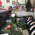 Detroit Tire collecting for toy drive