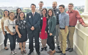 Internships highlight Cedarville DC semester