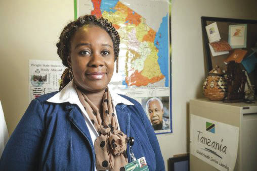 Submitted photo Wright State nursing professor Rosemary Eustace completed a prestigious Carnegie African Diaspora Fellowship in her native Tanzania.