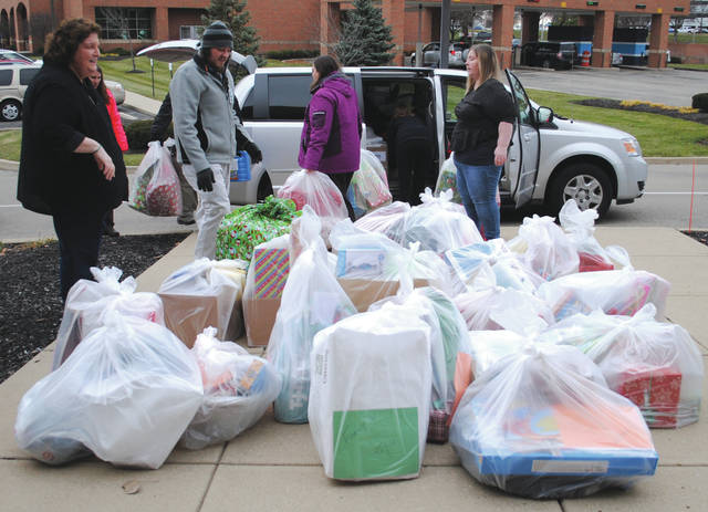 Officials from Greene County Children's Services picked up the items Dec. 7.