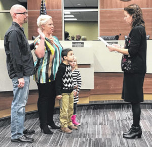 Council members sworn in