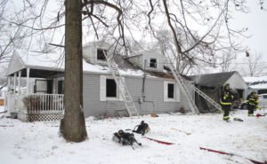 Fairborn structure fire results in one fatality