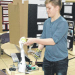 Science students show projects