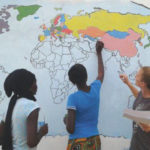 Student volunteers for Peace Corps