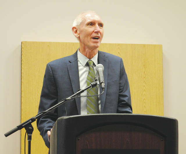 File photo Wright State University Provost Thomas Sudkamp, who has served as provost since 2015, will step down June 30.