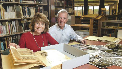 Submitted photo Wright State graduates Ann and Rob Weisgarber are among the first donors to support the Discover Your Story campaign, which will build a new home for the university's Special Collections and Archives.