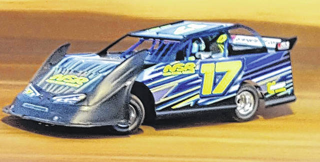 Submitted photo After spending several years driving go-karts and mini late model cars, Jamestown sixth grader Nick Snell is moving up to full-sized cars this year.