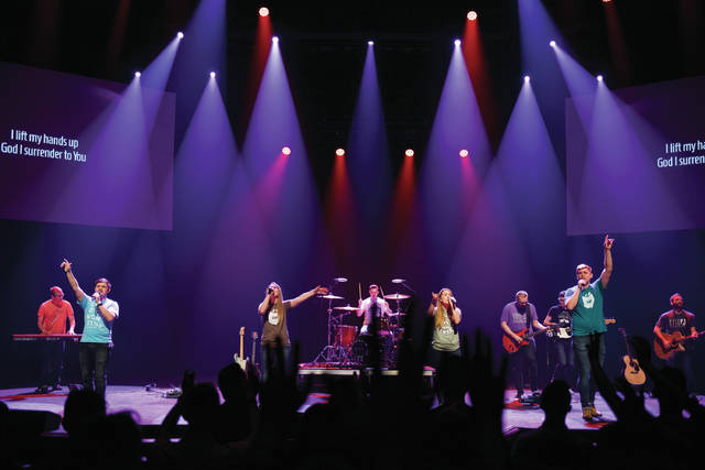 """Submitted photo HeartSong will record its live album, """"Foundations,"""" during a concert 7 p.m. Saturday, March 17 in Cedarville University's Jeremiah Chapel."""