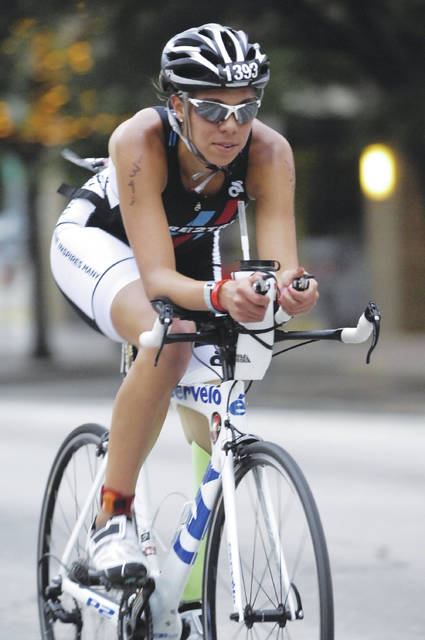 Cedarville University student athlete and Jamestown native Grace Norman was voted 2017 Paratriathlete of the Year by Team USA Triathlon, the second consecutive year she's received the award.