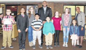 Board recognizes standout students