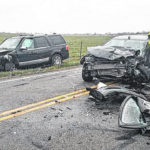 Fairgrounds Road crash sends two to hospital