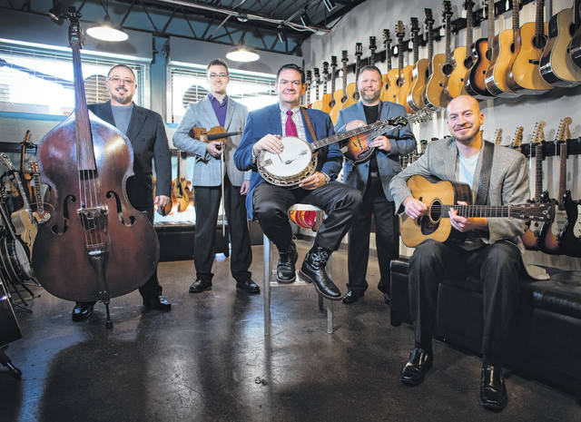 File photo Joe Mullins and the Radio Ramblers will perform at the Cedarville Opera House Friday, April 13.