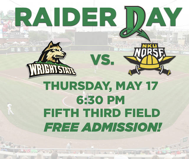 The Wright State University baseball team will play a college game at Dayton's Fifth Third Field for the first time, ever, on May 17.