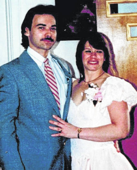 Mark and Kathy Borders in 1988.