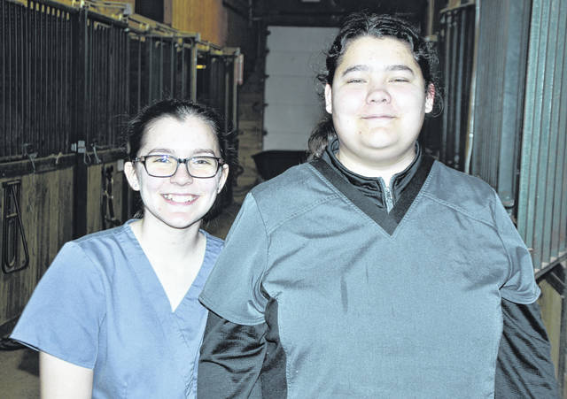 Submitted photos Greene County Career Center's veterinary science team placed third and junior Melissa Rice from Summit Academy/Beavercreek placed first as an individual at the recent FFA Vet Science Career Development Event in Columbus. Junior Emily Palmer from Beavercreek was also on the team.