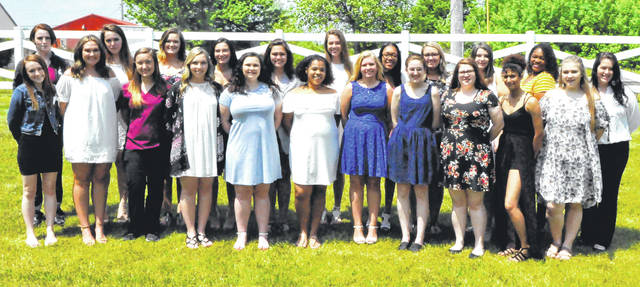 Submitted photo Greene County Career Center health science seniors recently passed exams to earn STNA certifications.