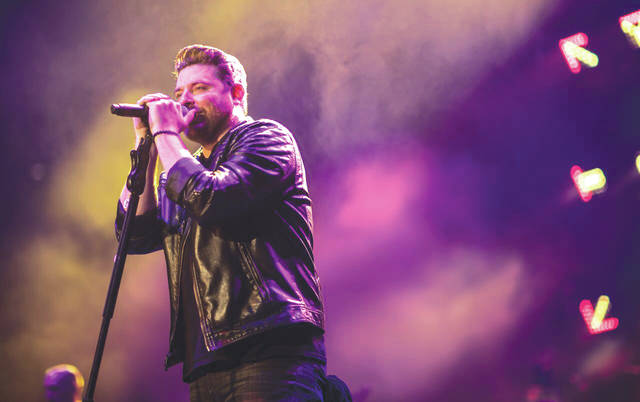 Submitted photo Chris Young will perform at the WSU Nutter Center Saturday, Nov. 3.