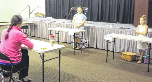 Merrilee Embs | Greene County News Youth were ready to test their baking skills during the Youth Baking Contest July 30 at the Greene County Fair.