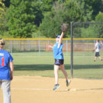 Coed Bombers remain undefeated in softball