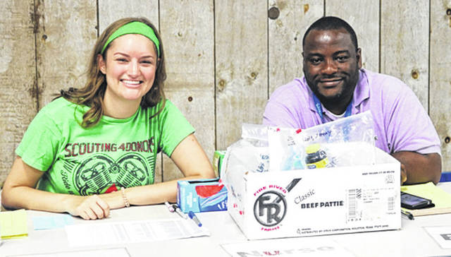 Submitted photo Cedarville University pharmacy students are working at the Kentucky Mountain Mission through the end of July.