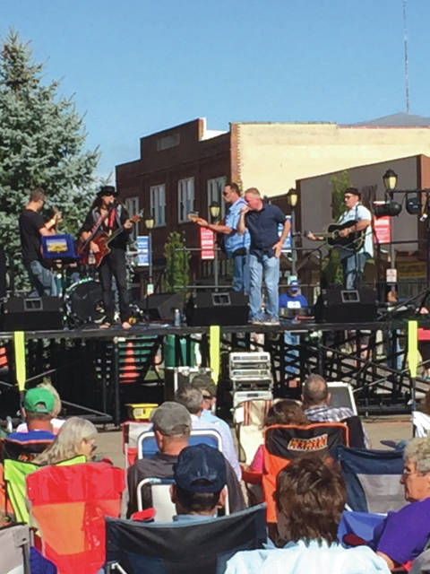File photos Bluegrass and Brews is scheduled to begin 4 p.m. Friday, Aug. 3. Mark Whitt and True Bluegrass, Clay Hess Band and Restless Leg String Band will each perform. Pictured is a performance from last year's event.