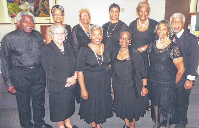 "Submitted photo The ""To G-d Be the Glory Voices"" will sing during an afternoon of praise and worship 4 p.m. Sunday, Aug. 26. Choir members are Darrell Buford, Harvenia Washington, Robin Harden, Sharon Thompson, Phyllis Bryant, Minister Richard Buford, Rhonda Brown, Charlene Smith, Kathleen McCormick, and Joan Moore."