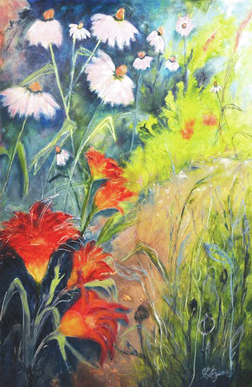 Submitted art A painting by Christine Klinger.