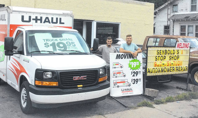 Submitted photo Seybold's in Cedarville has added U-Haul services.