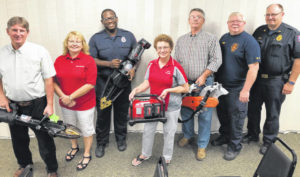 Township receives rescue equipment