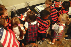 Pre-K: 'Happy B-day, Air Force!'